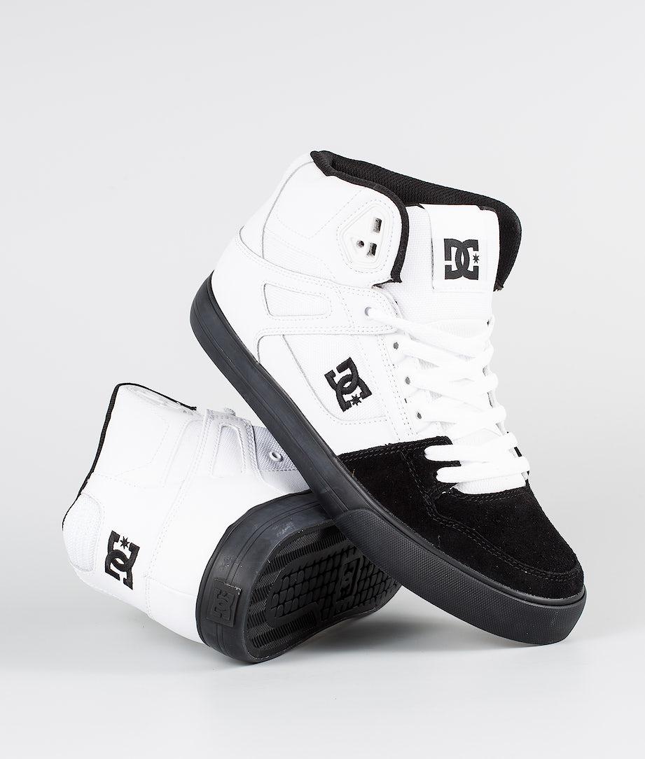 DC Pure High-Top Wc Kengät White/Black
