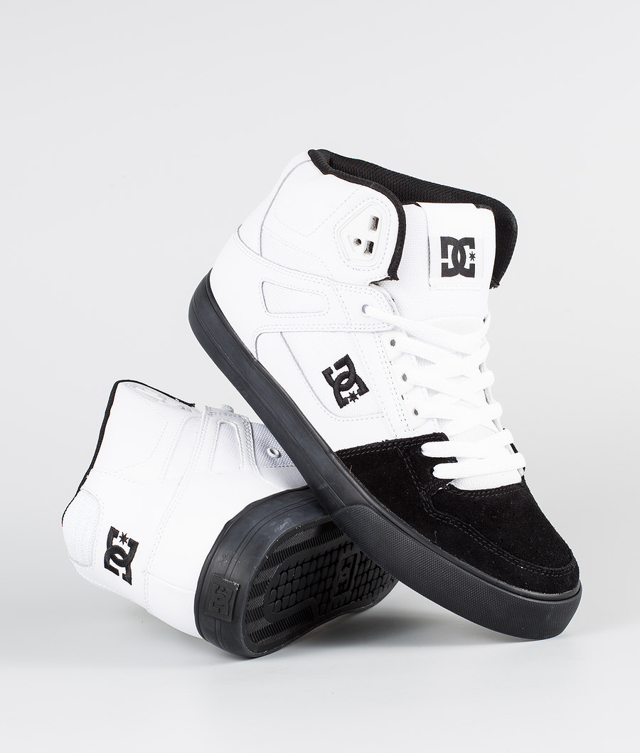 DC Pure High-Top Wc Shoes White/Black