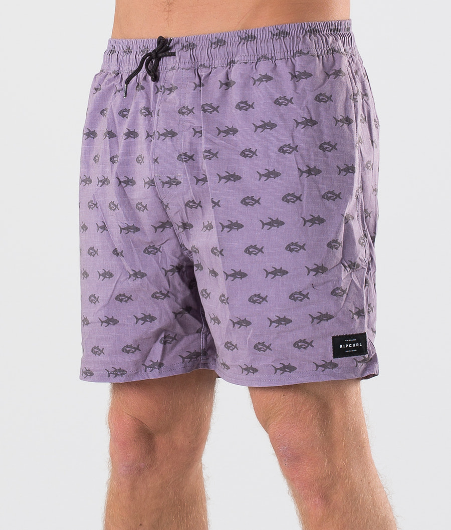 Rip Curl Volley Archipelagoes 16'' Badshorts Purple