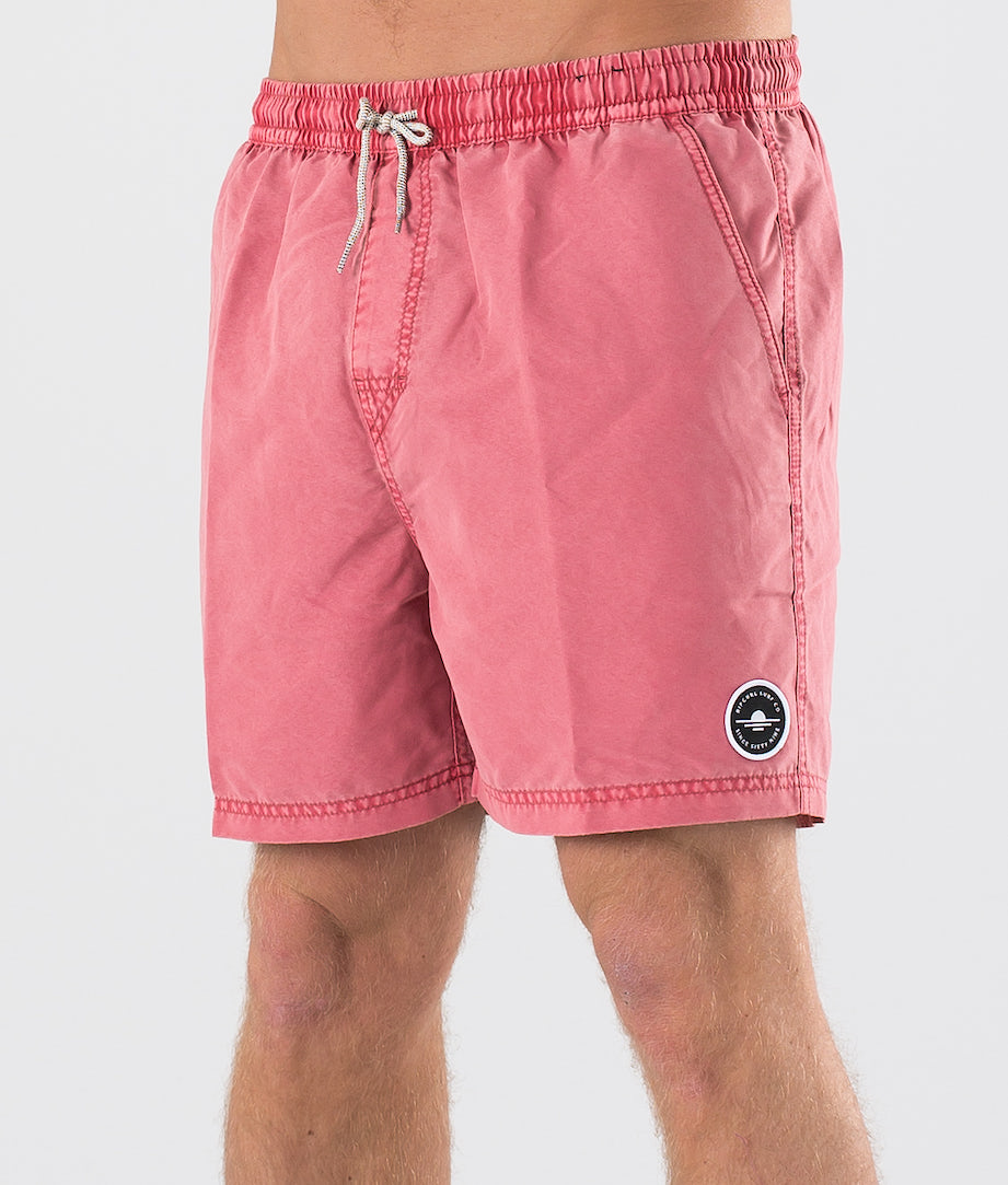 Rip Curl Volley Sunset Shades 16'' Uimashortsit Light Red