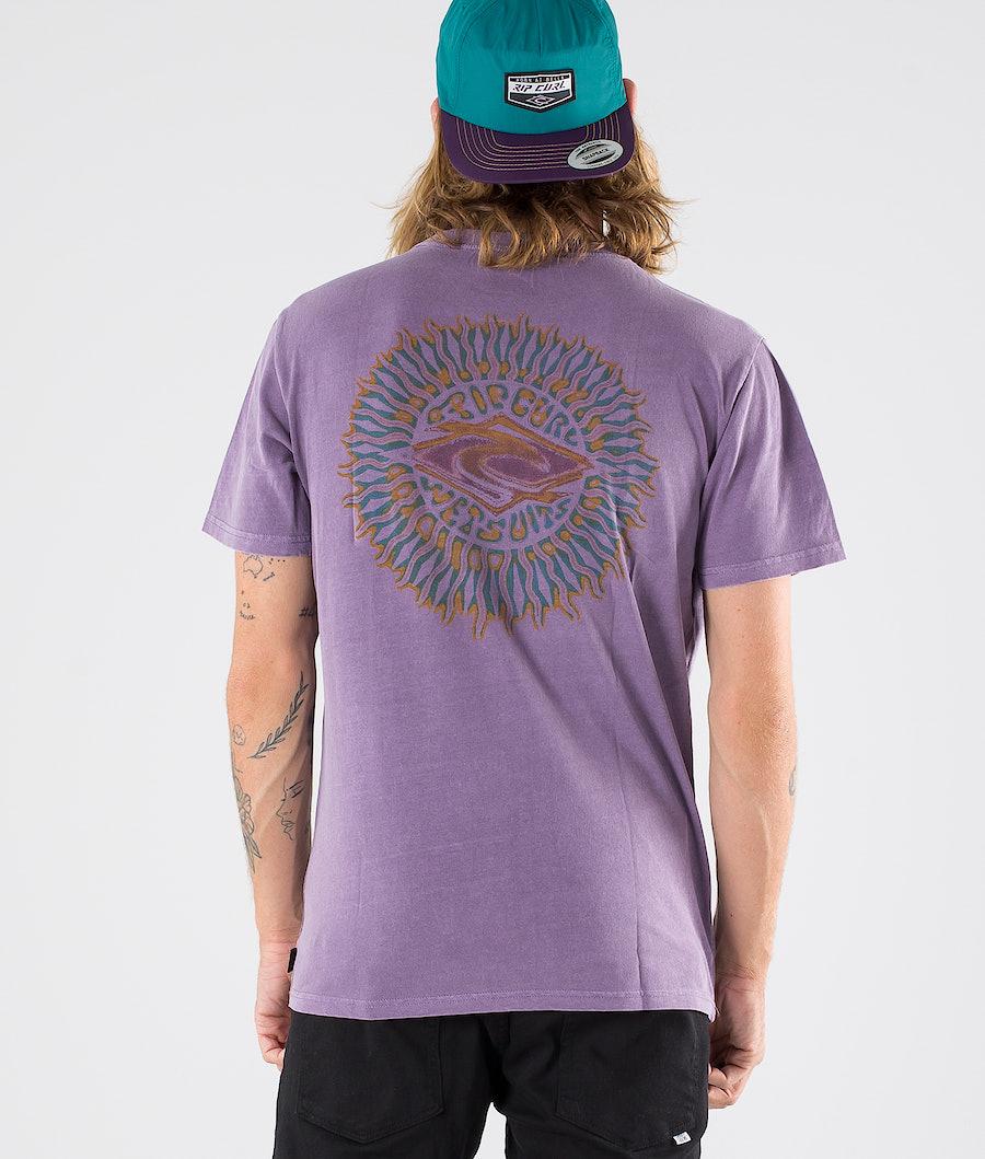 Rip Curl Sunburst T-shirt Plum
