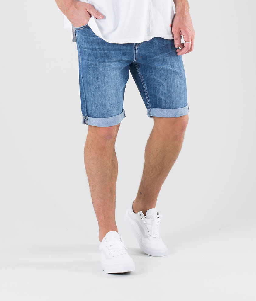 Sweet SKTBS Slim Shorts Malibu Blue