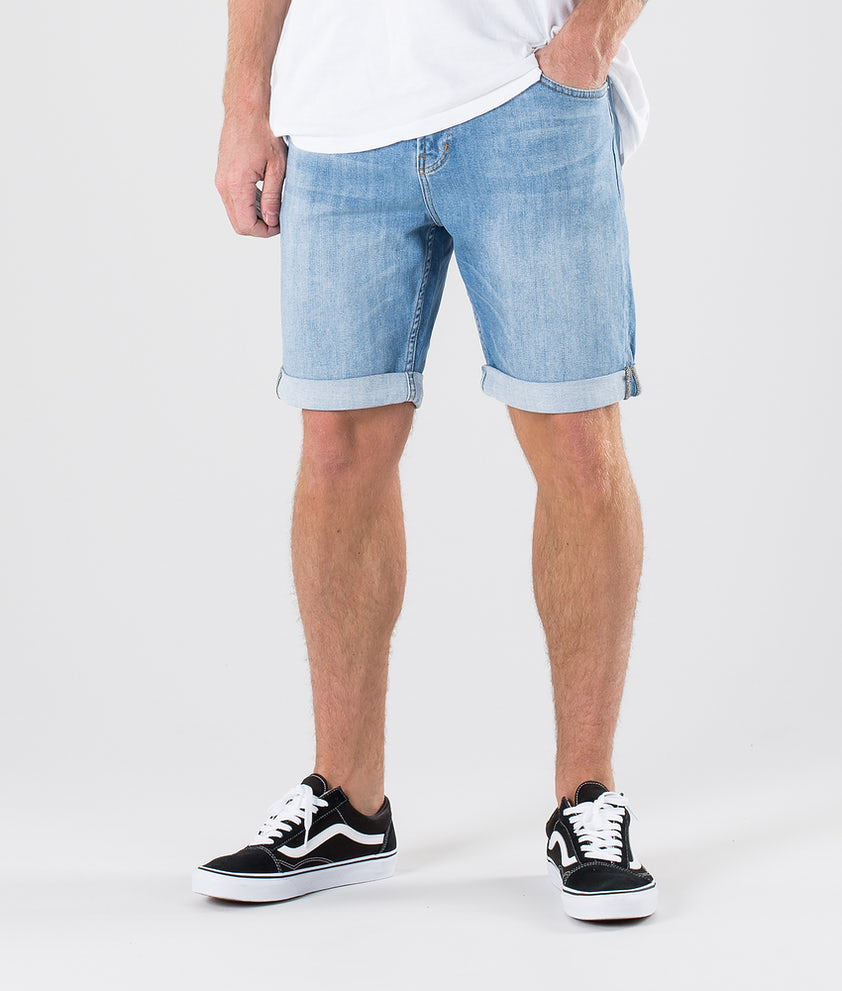 Sweet SKTBS Slim Short Shorts Summer Sky Blue