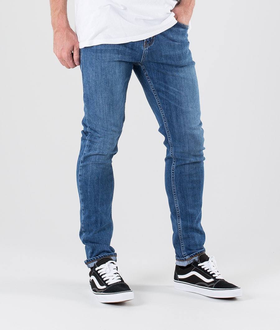 Sweet SKTBS Slim Colored Pantalon Malibu Blue