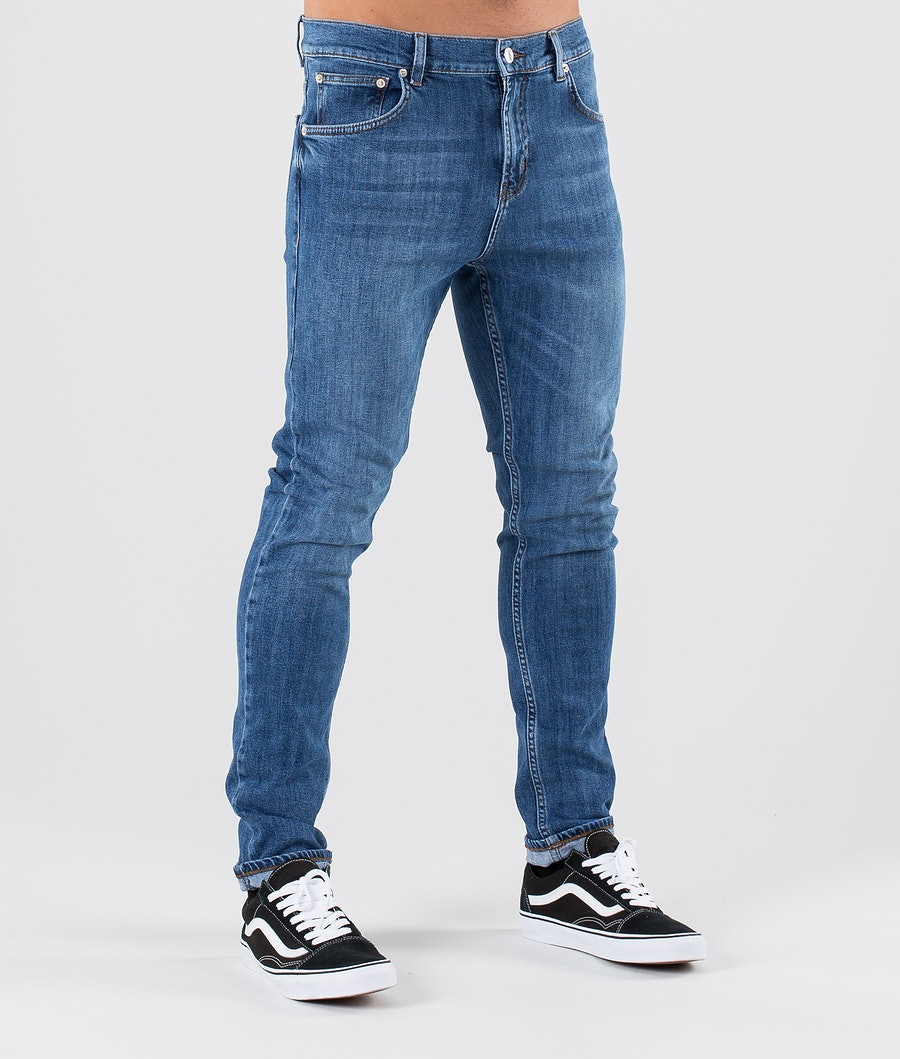 Sweet SKTBS Slim Colored Bukser Malibu Blue