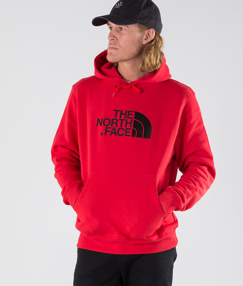 The North Face Drew Peak Hood Salsa Red