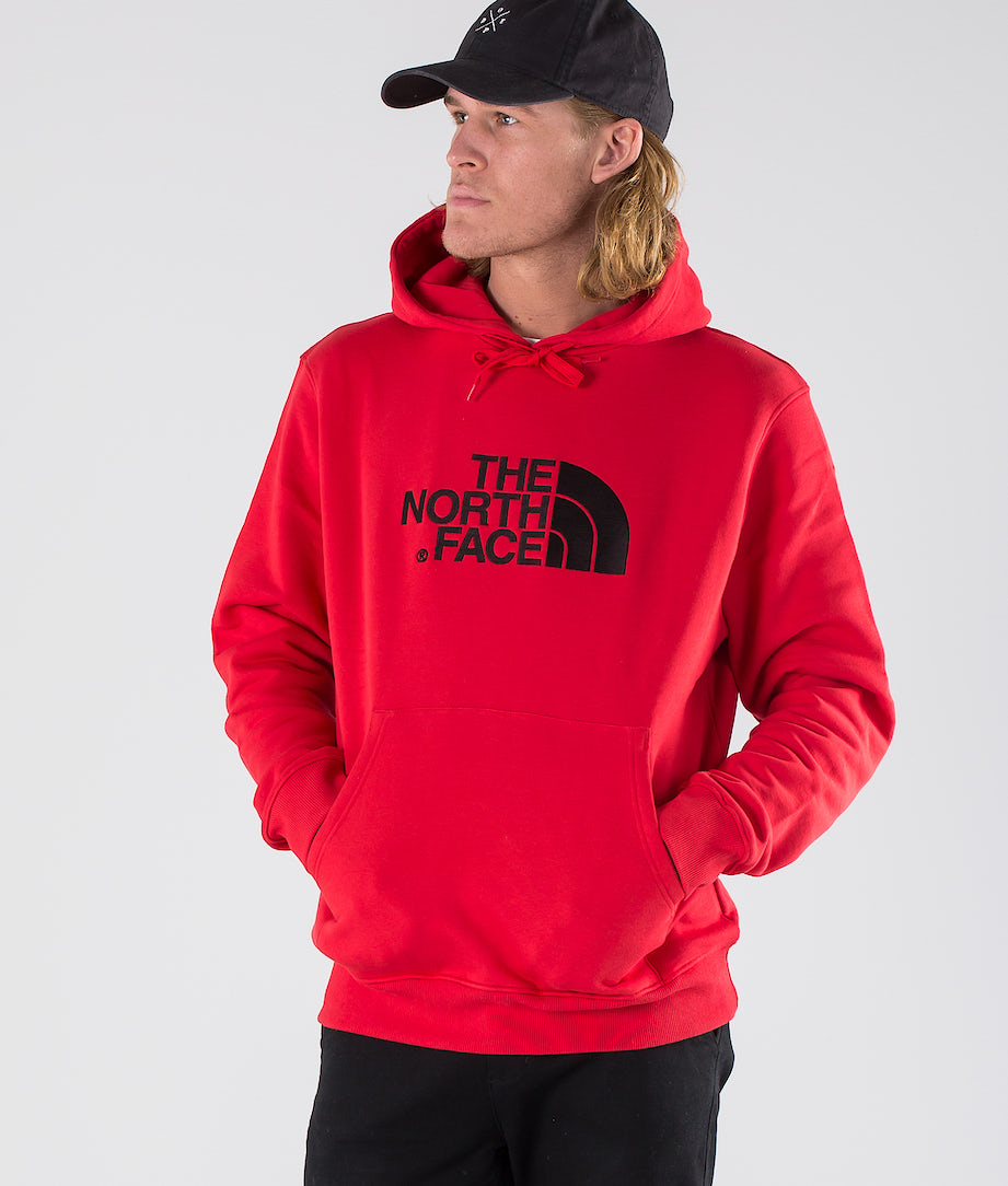 The North Face Drew Peak Hoodie Salsa Red