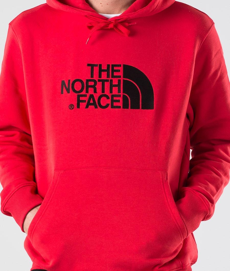 The North Face Drew Peak Hood Salsa Red
