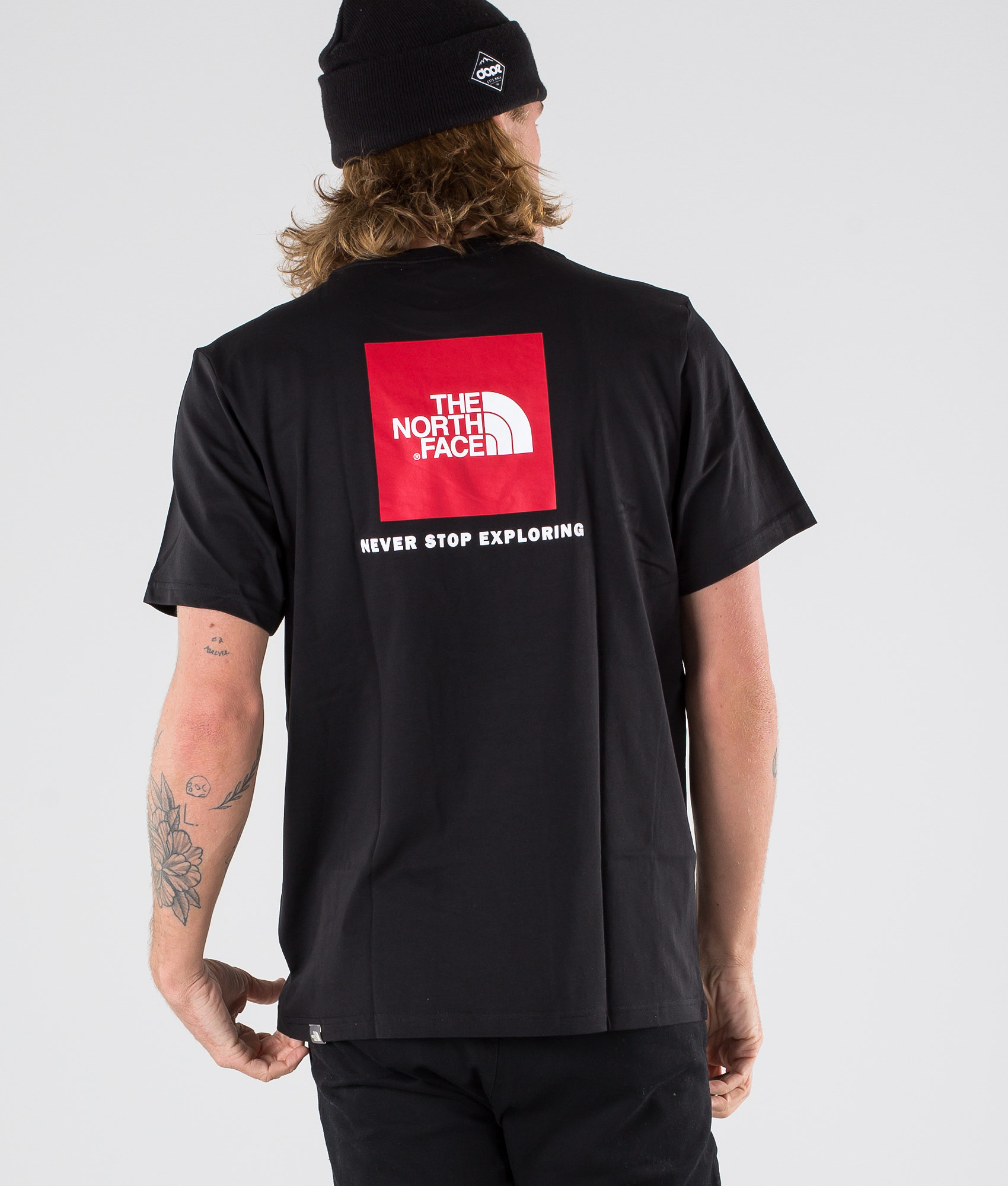 65cb1c9fc The North Face Red Box T-shirt Black