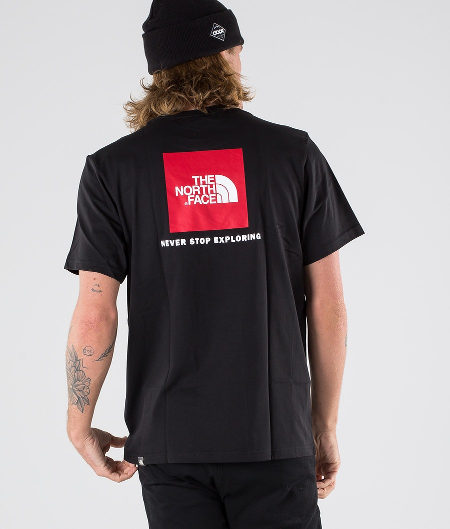 The North Face Redbox T-shirt Tnf Black