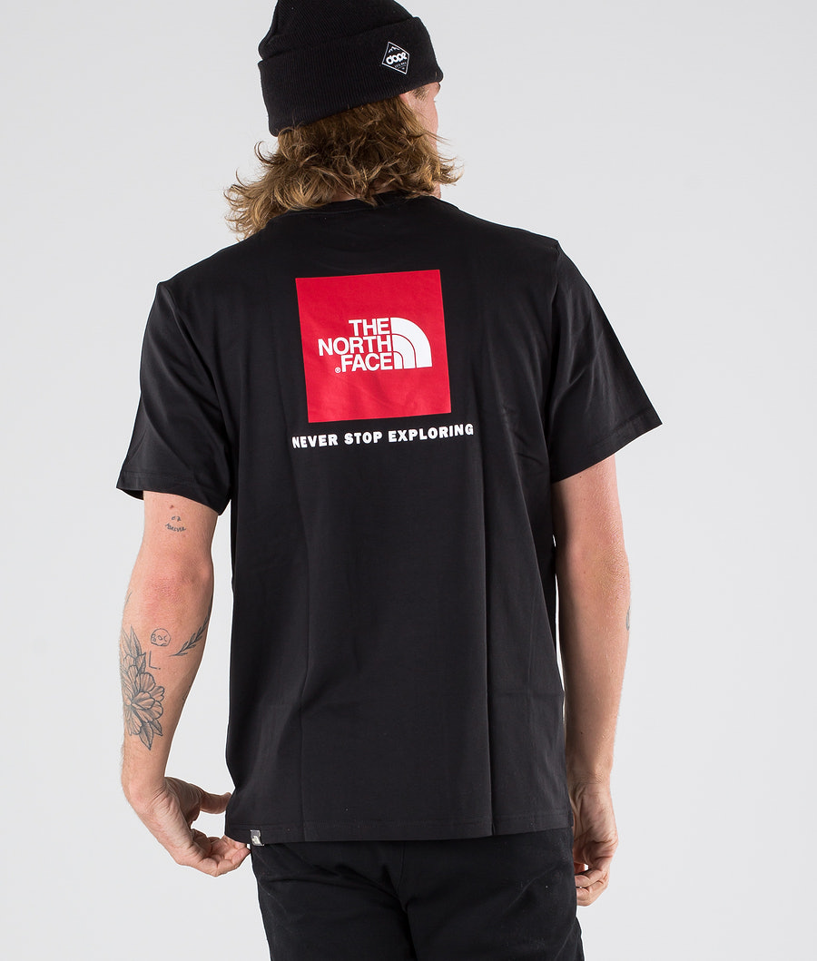 The North Face Red Box T-Shirt Tnf Black