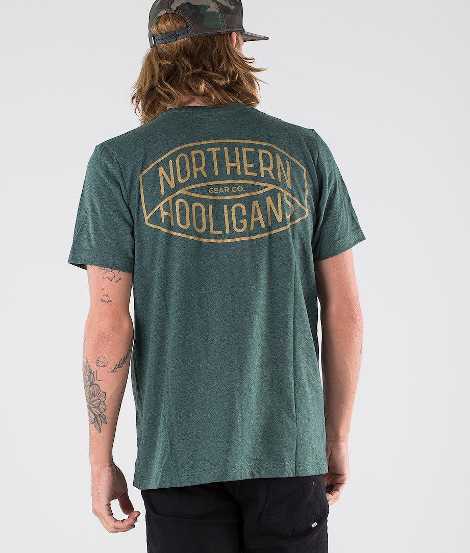 Northern Hooligans Golden T-shirt Heather Forest