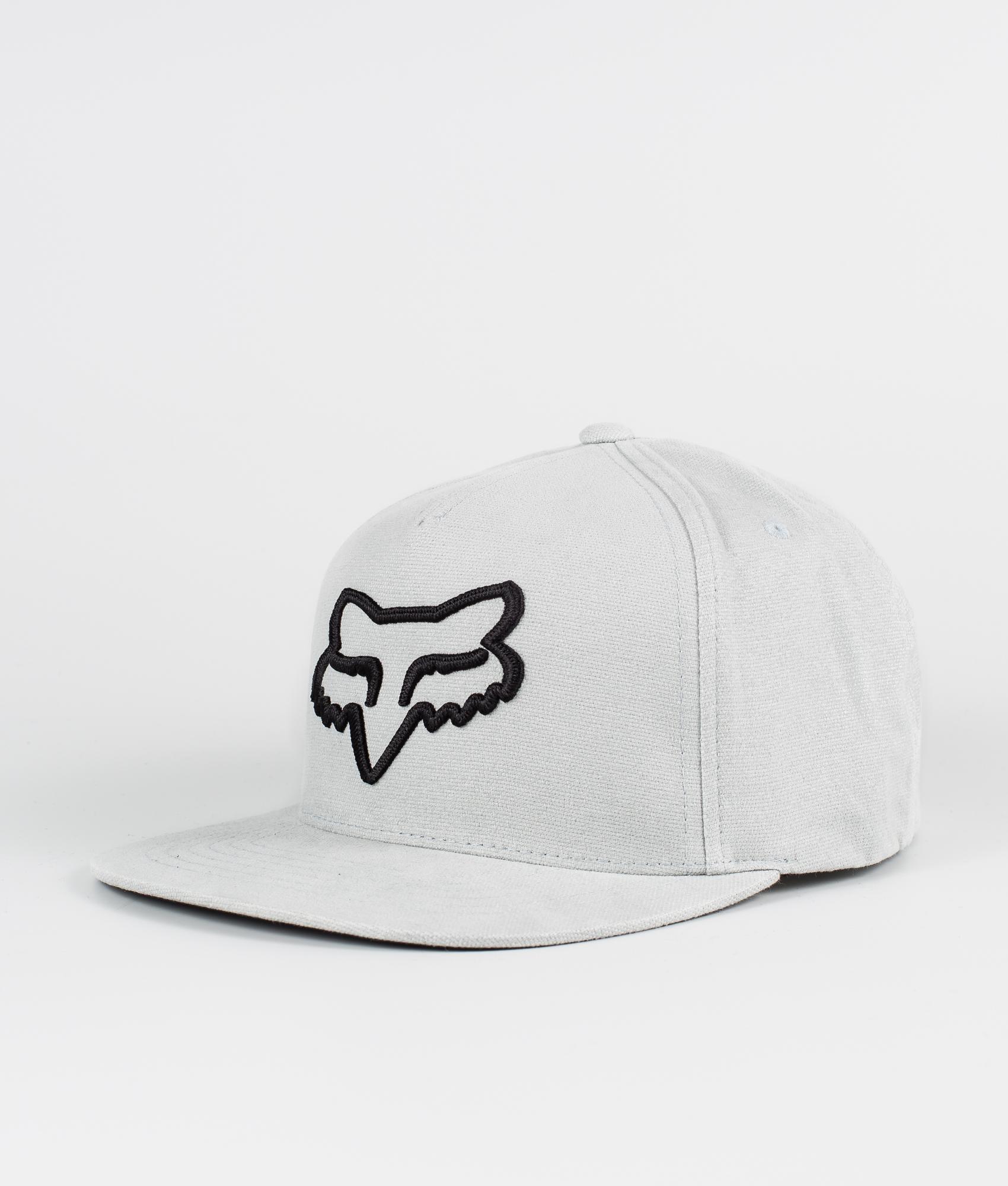 Fox Instill Snapback Lippis Steel Grey - Ridestore.fi 386b0d4fdb