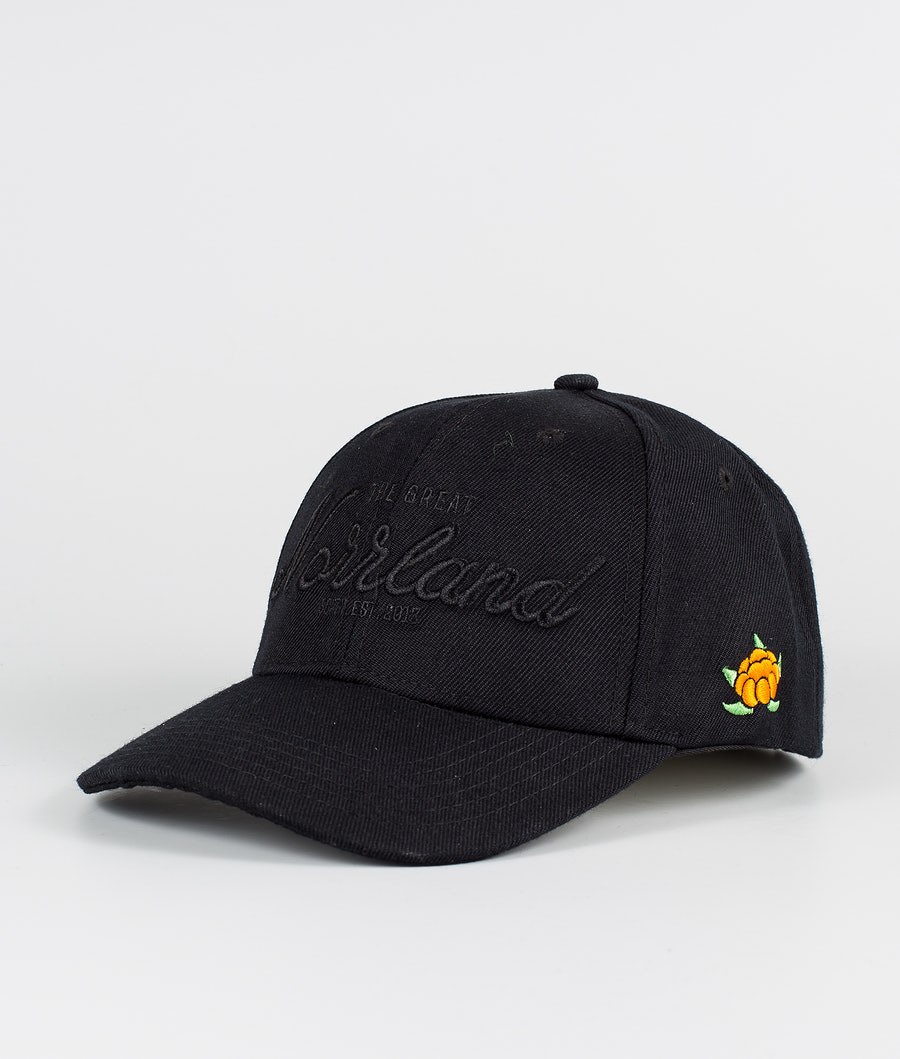 SQRTN Great Norrland Hooked Casquette All Black