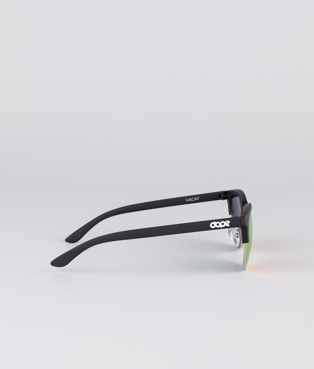 Dope Vacay Solbriller Matte Black w/Red Mirror
