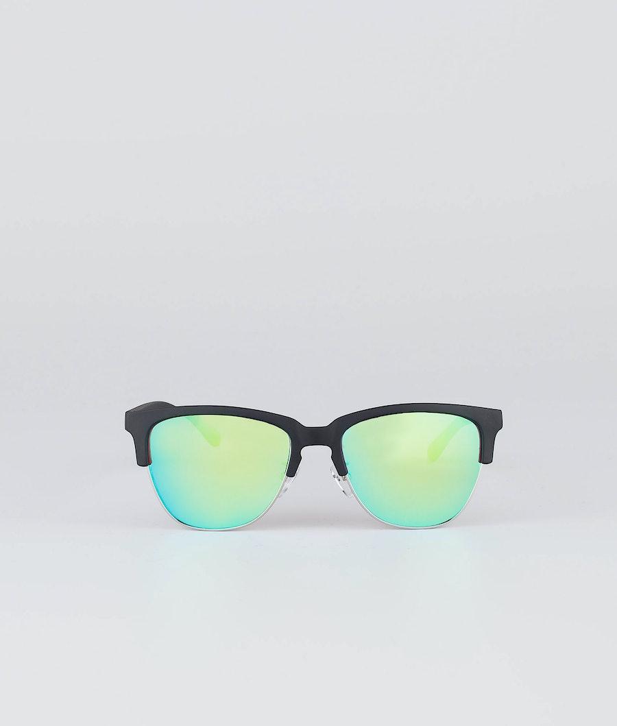 Dope Vacay Sonnenbrille Matte Black w/Green mirror