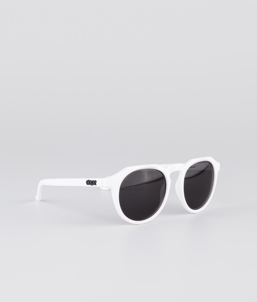 Dope Oldskool III Sonnenbrille Glossy White w/Black