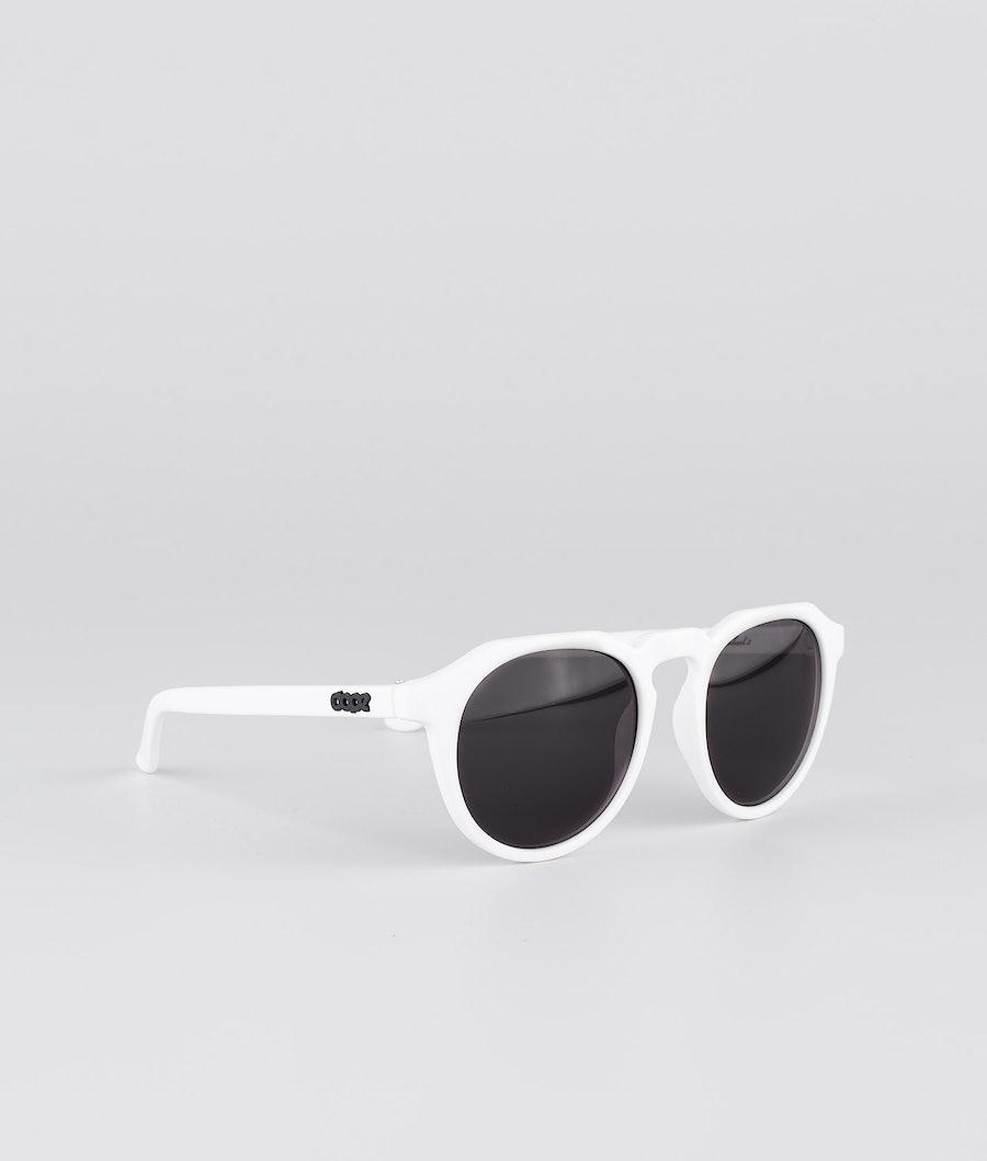 Dope Oldskool III Sunglasses Glossy White w/Black