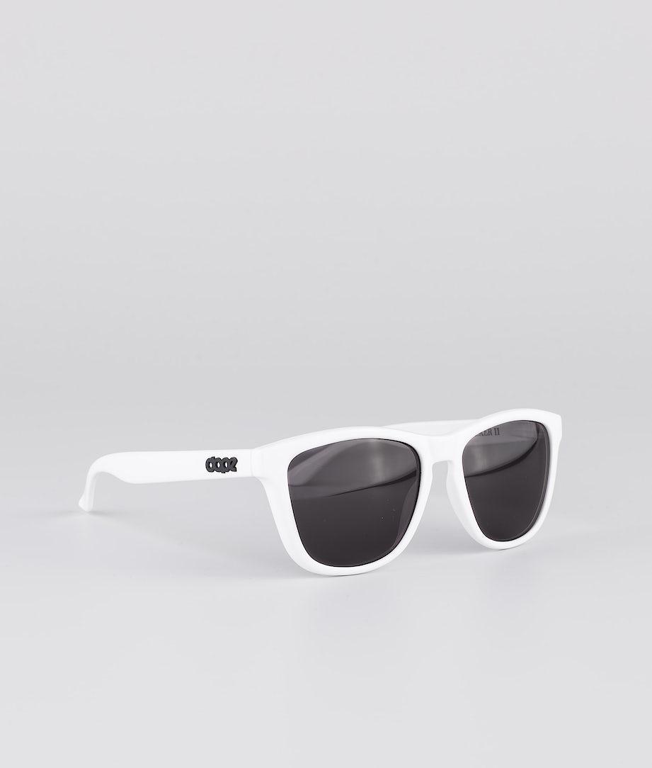 Dope Daywalker II Lunettes de soleil Glossy White w/Black