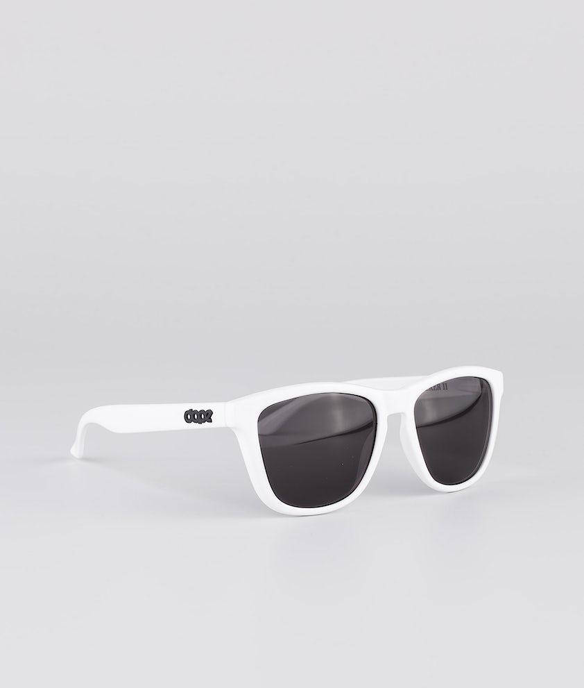 Dope Daywalker II Aurinkolasit Glossy White w/Black