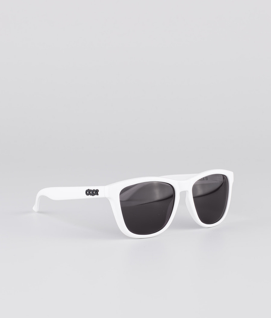 Dope Daywalker II Sunglasses Glossy White w/Black
