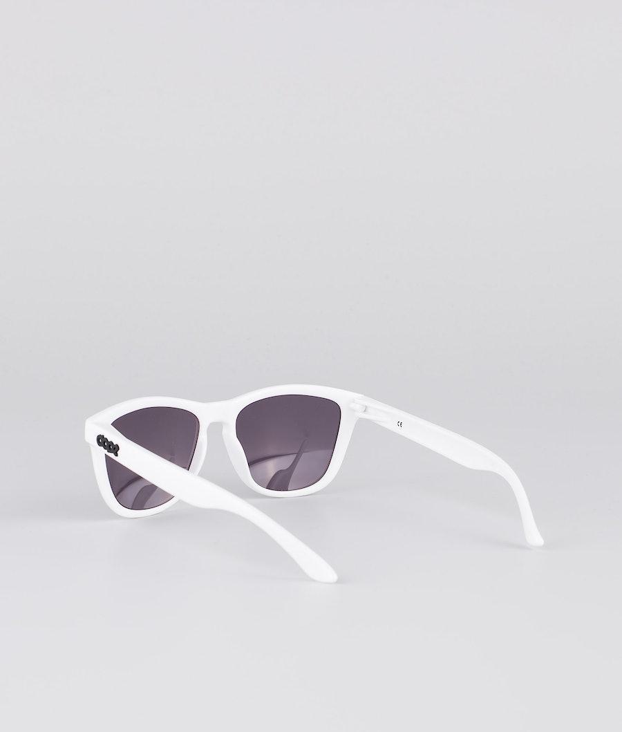Dope Daywalker II Solbriller Glossy White w/Black