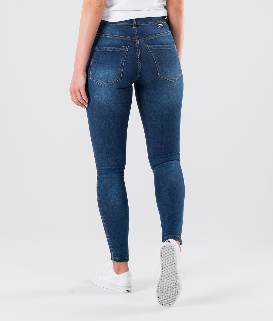 Dr Denim Lexy Bukser Dame Atlantic Deep Blue