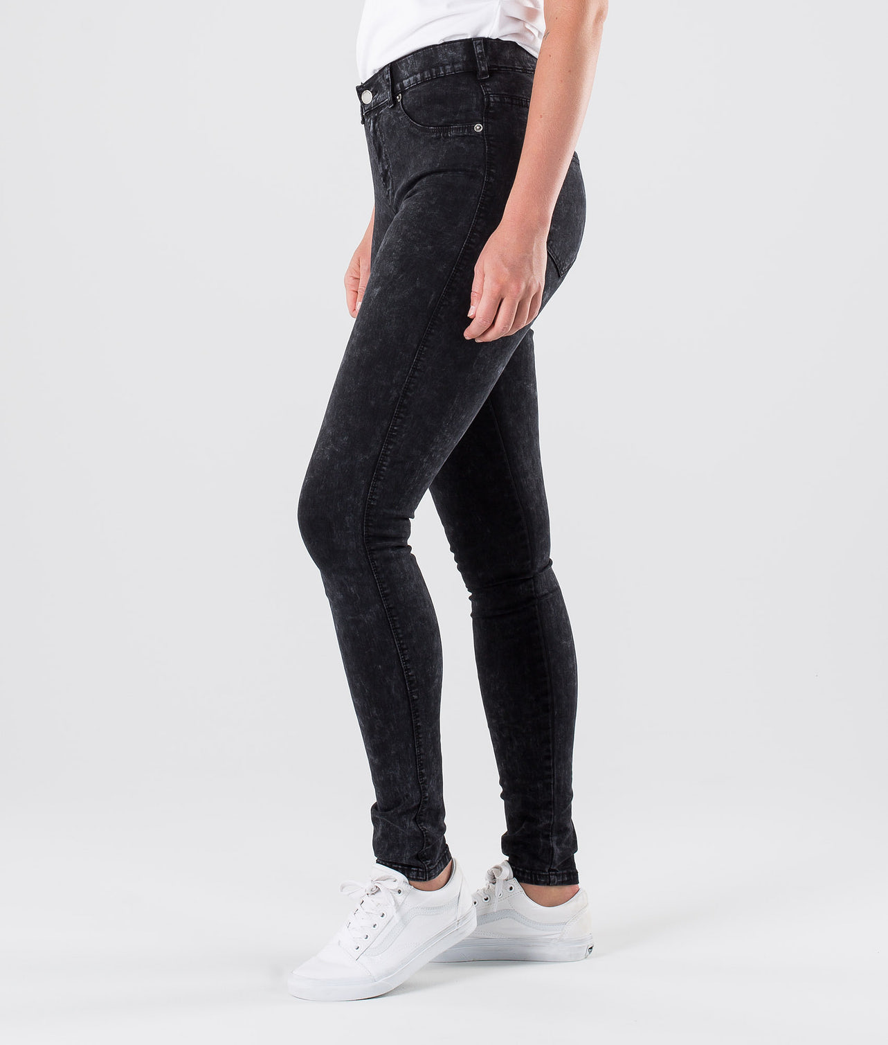 Dr Denim Plenty Bukser Storm Black