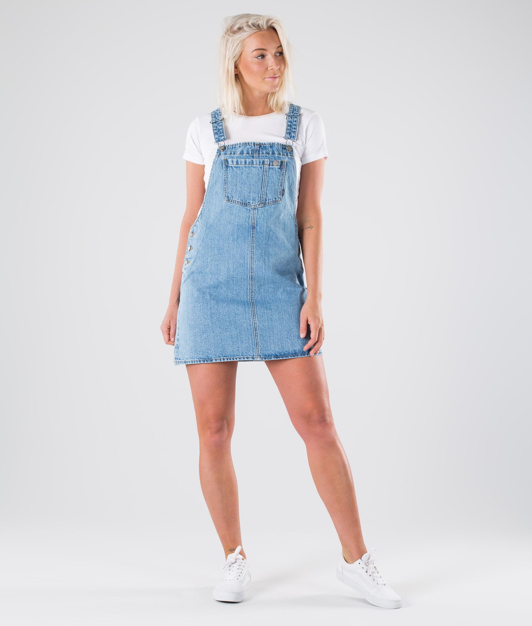 0638f4f4c2e4 Dr Denim Eir Dungaree Dress Vestito Summer Camp Blue - Ridestore.it