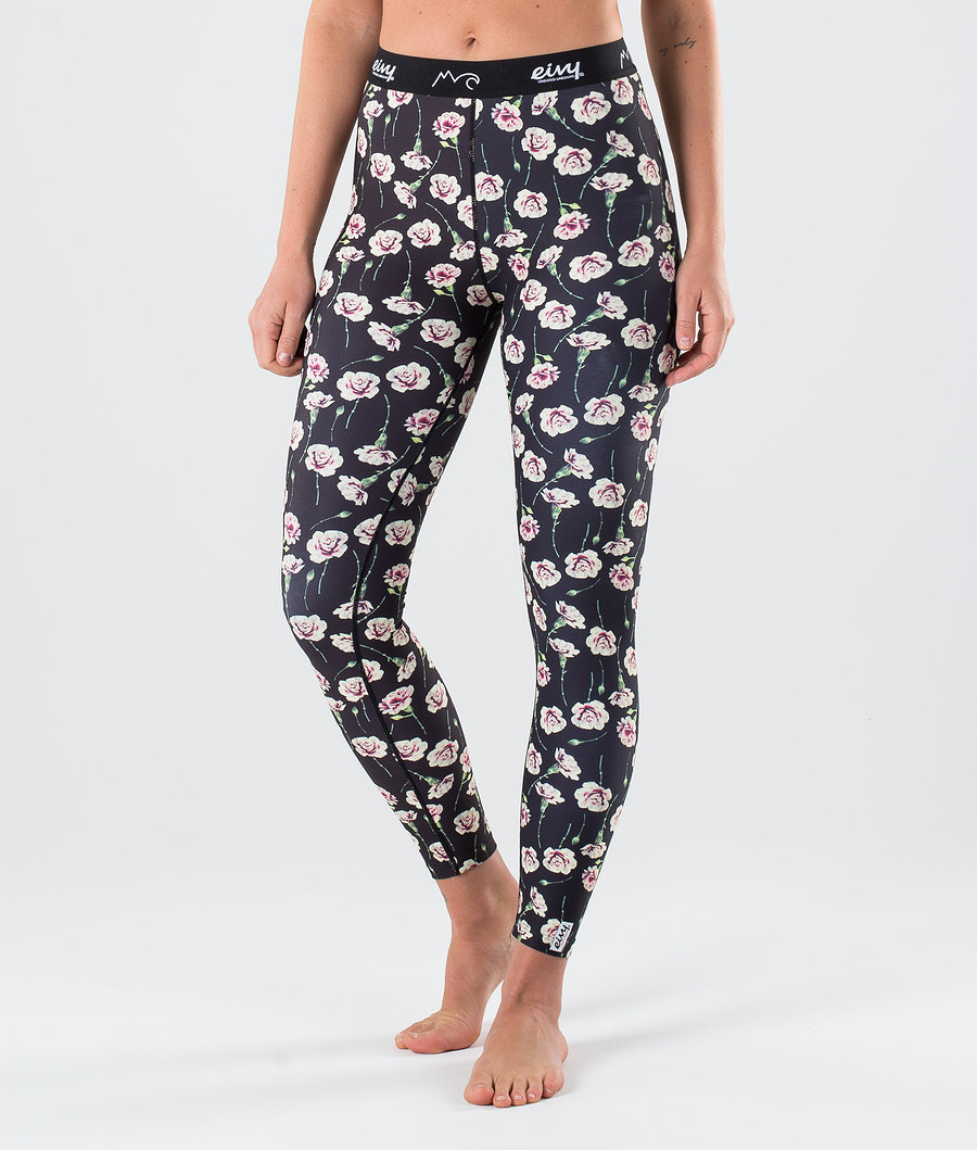 Eivy Icecold Base Layer Pant Fallen Roses