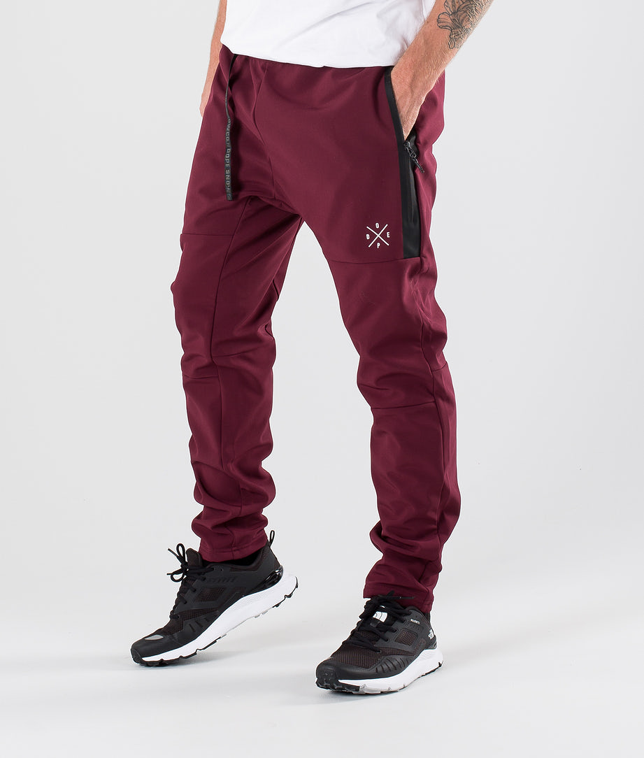 Dope Rambler Outdoor Trousers Burgundy