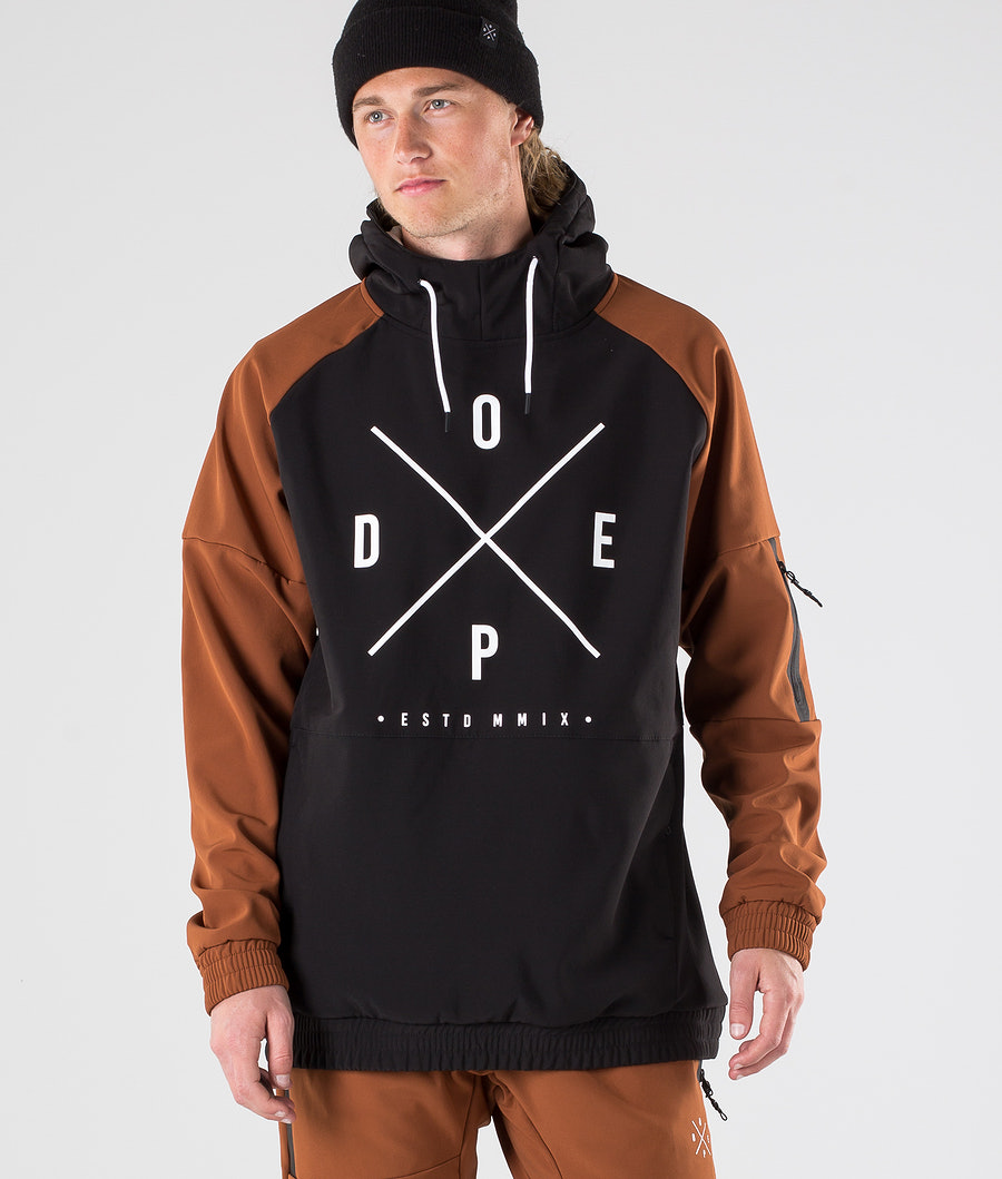 Dope Rambler Outdoor Jacket Adobe/Black