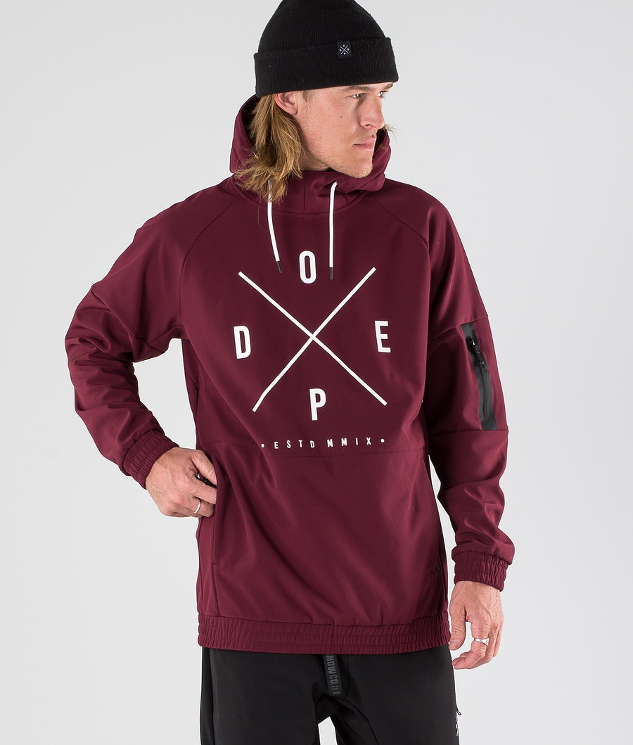 Dope Rambler 19 Outdoor Jacket Burgundy