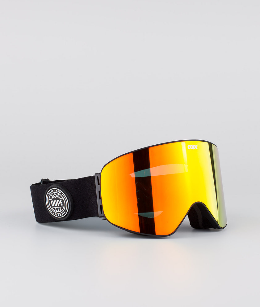 Dope Flush Glotain II Skibriller Black W/Red Mirror