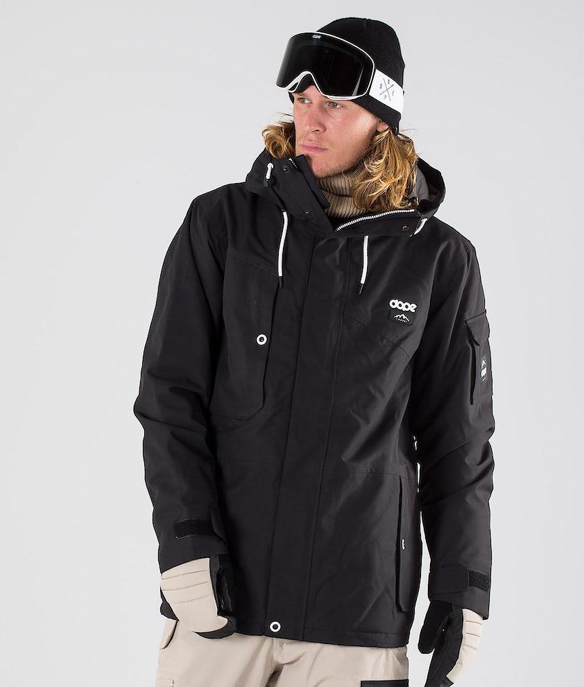 Dope Adept Snowboard Jacket Black