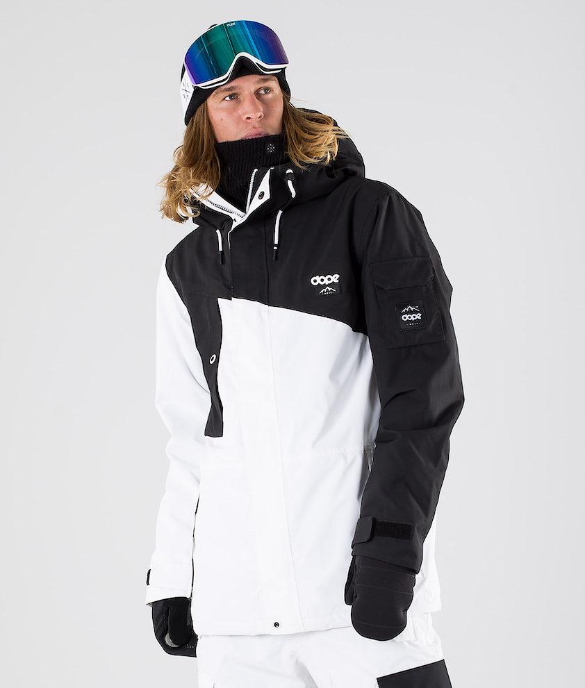 Dope Adept Snowboardjakke Black/White