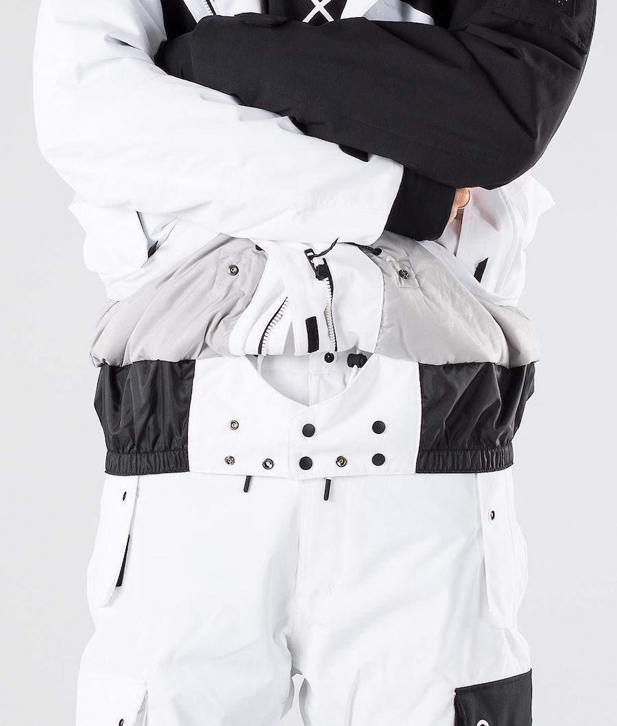 Dope Adept Snowboard Jacket Black/White