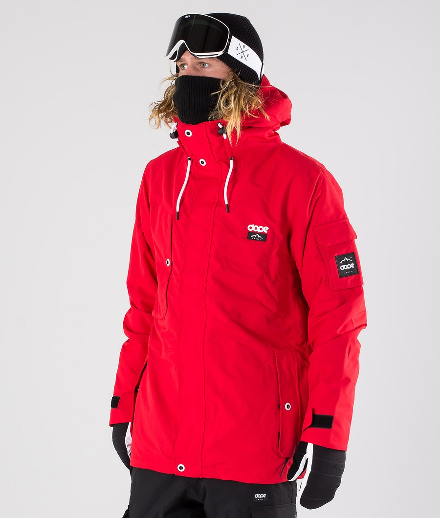 Dope Adept Giacca da snowboard Red