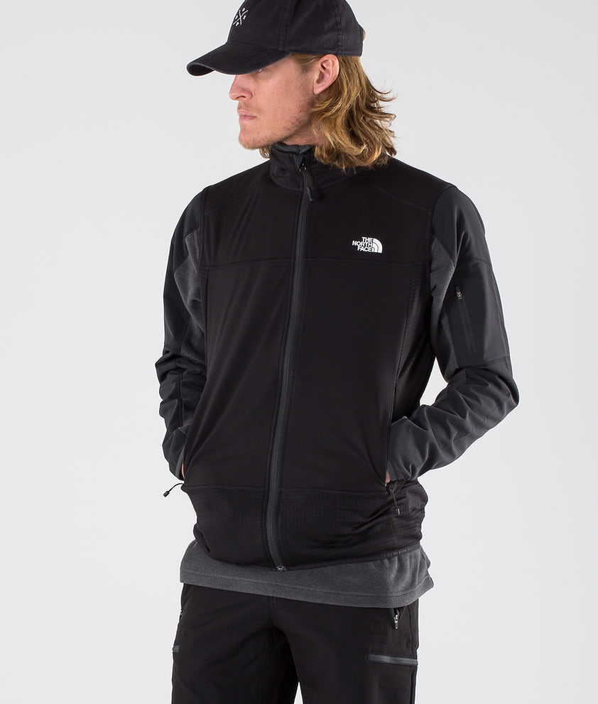 The North Face Hybrid Softshell V Outdoor Jacka Tnf Black/Tnf Black