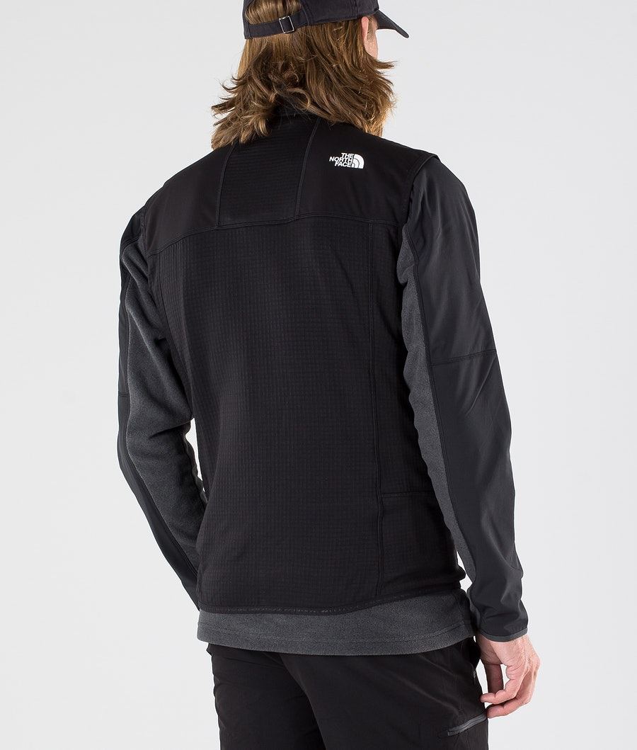 The North Face Hybrid Softshell V Turjakke Tnf Black/Tnf Black