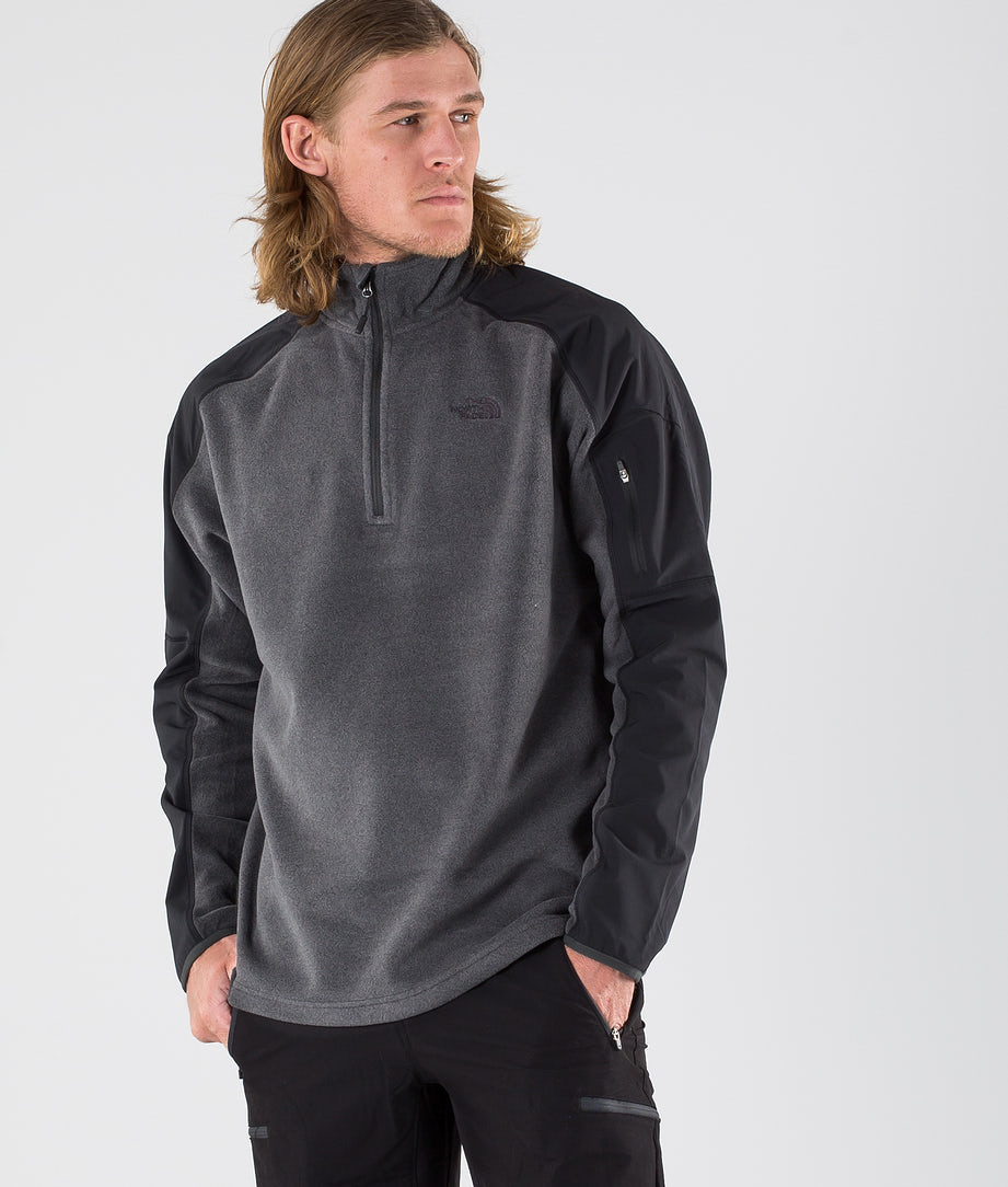 The North Face Glacier Delta 1/4 Sweatshirt Tnf Dark Grey Heather