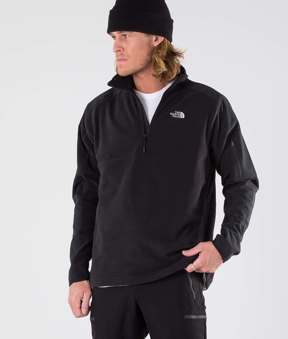 The North Face Glacier Delta 1/4 Sweatshirt Tnf Black