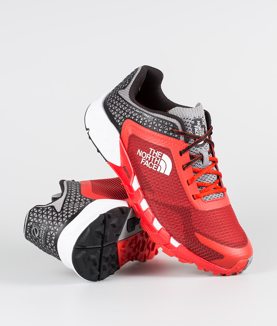 The North Face Flight Trinity Chaussures randonnée Fiery Red/Tnf Black