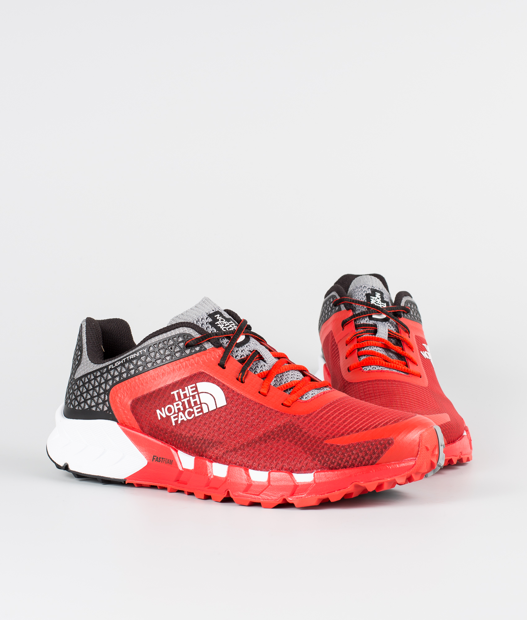 Flight Trinity Redtnf The Face Outdoor North Black Shoes Fiery eH2EYDW9I