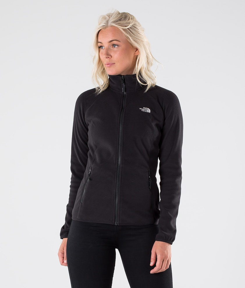 The North Face 100 Glacier Full Zip Fleecegenser Tnf Black