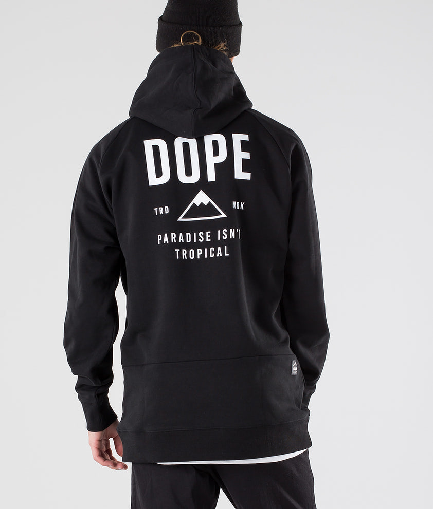 Dope Stacked Capuche Black