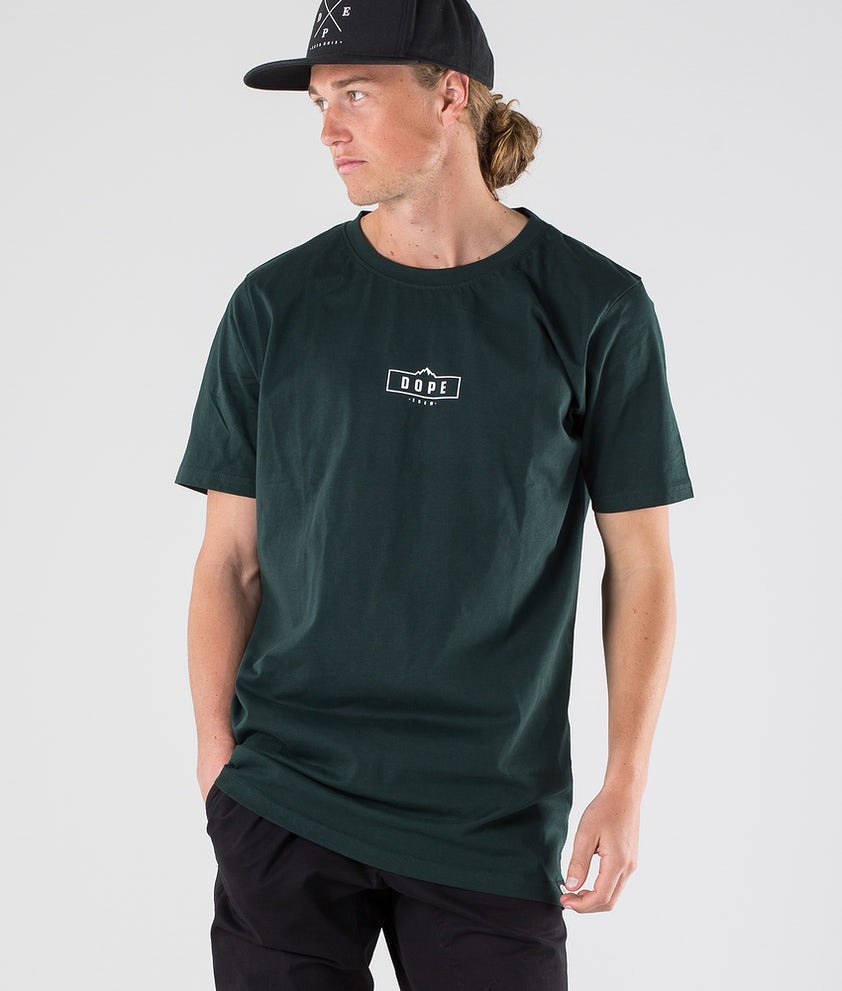 Dope Square T-shirt Royal Green