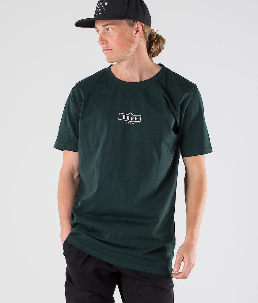 Dope Square T-shirt Royal Green