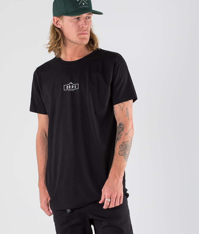 Dope Square T-shirt Black