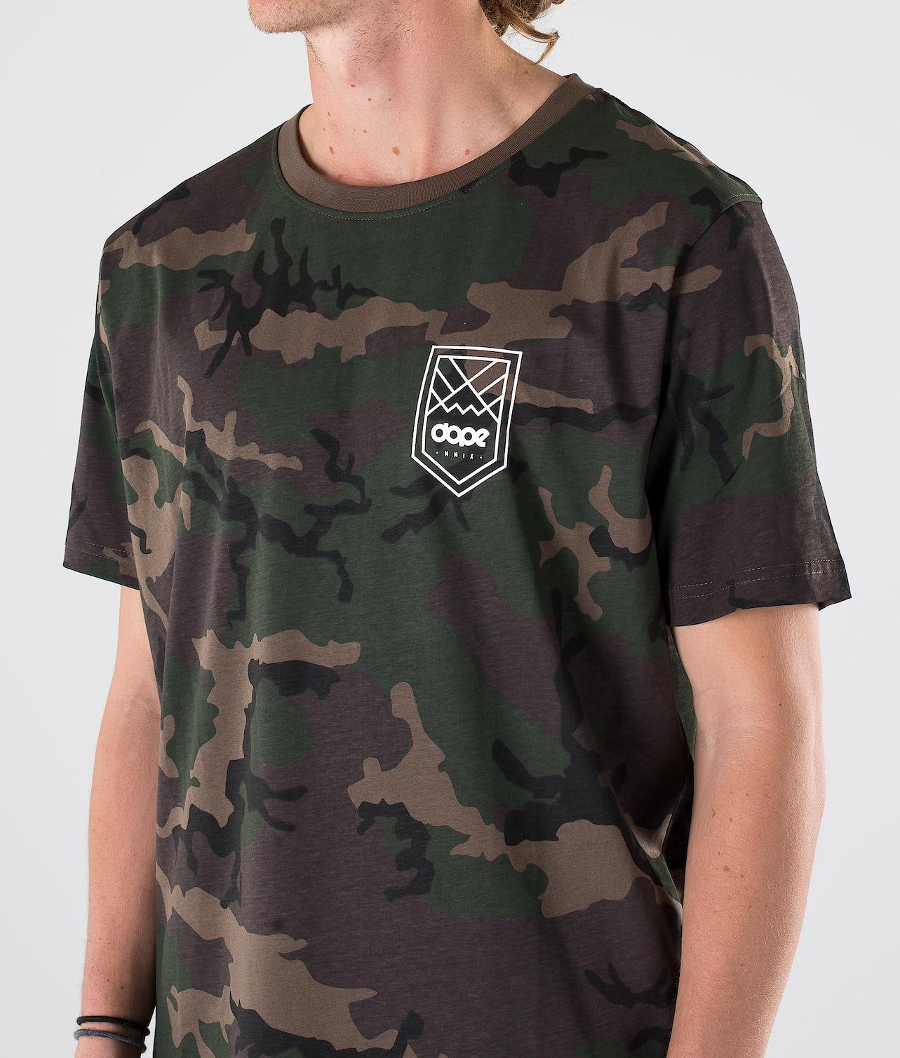 Dope Shield T-shirt Woodcamo